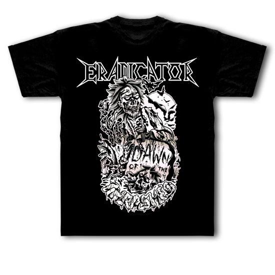 "T-Shirt ""Dawn Of The Thrashed"" Black"